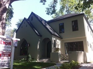 A home for sale in East Sacramento.