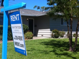 A house for rent in southwest Sacramento.